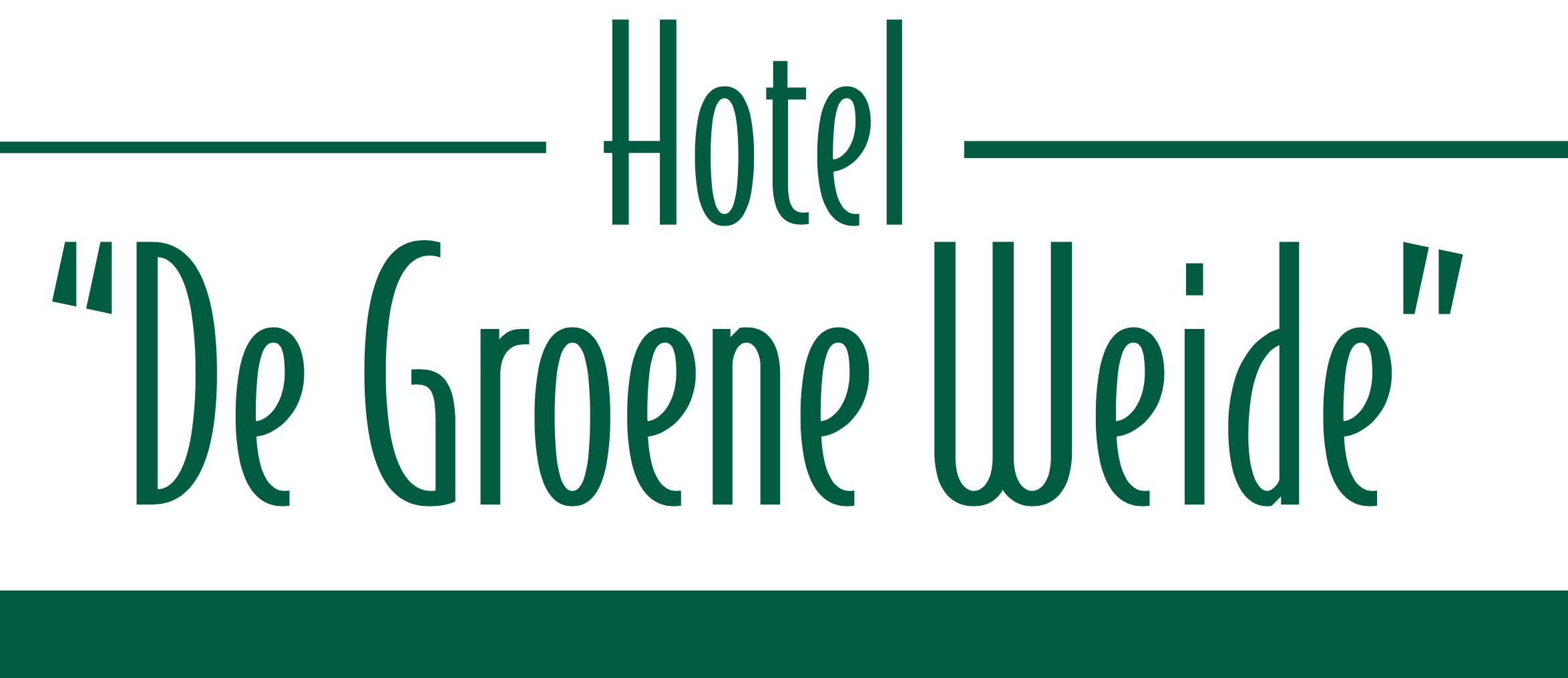 Hotel de Groene Weide