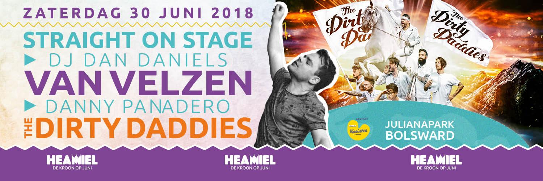 Line-up Heamiel 2018 slotavond